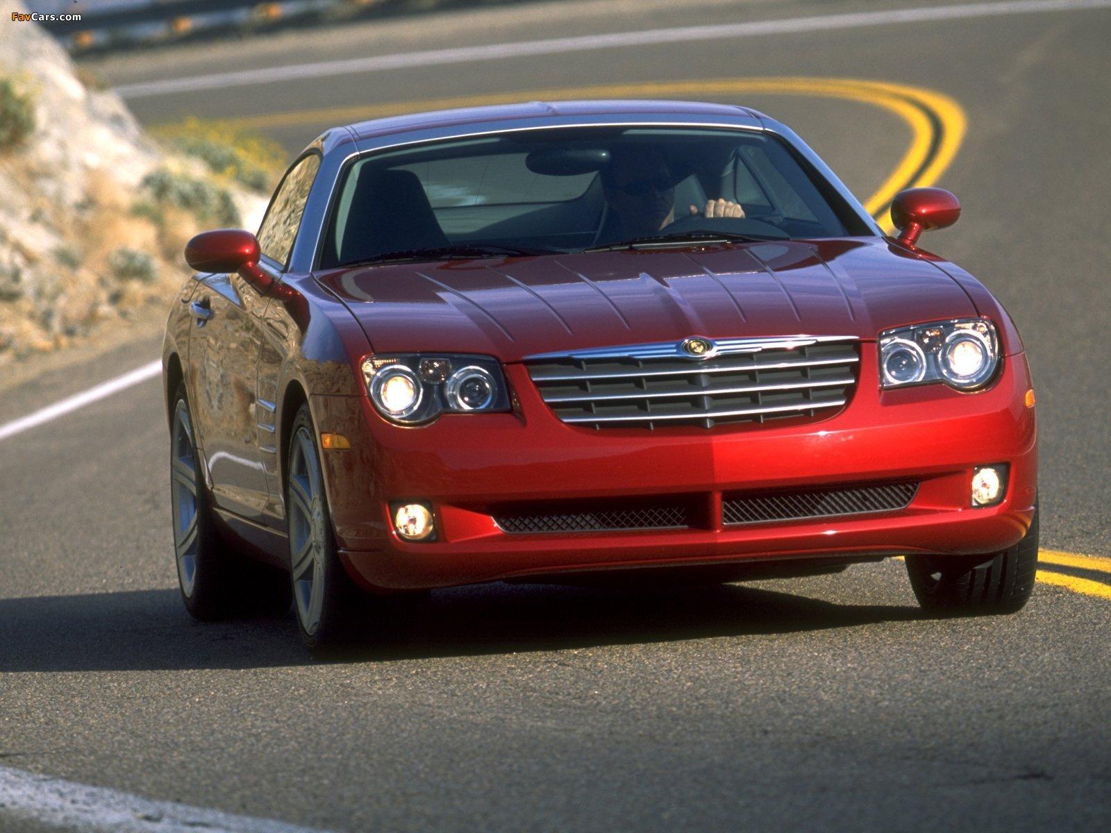 Chrysler Crossfire Coupe 2003–07 pictures (1600 x 1200)