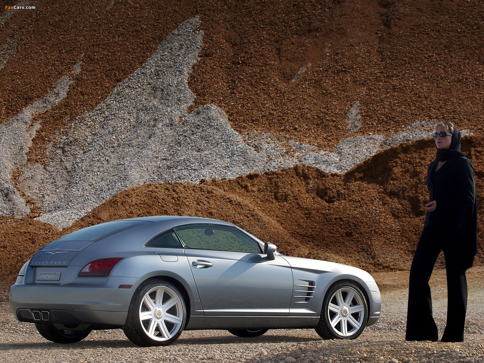 Chrysler Crossfire Coupe 2003–07 wallpapers (1600 x 1200)