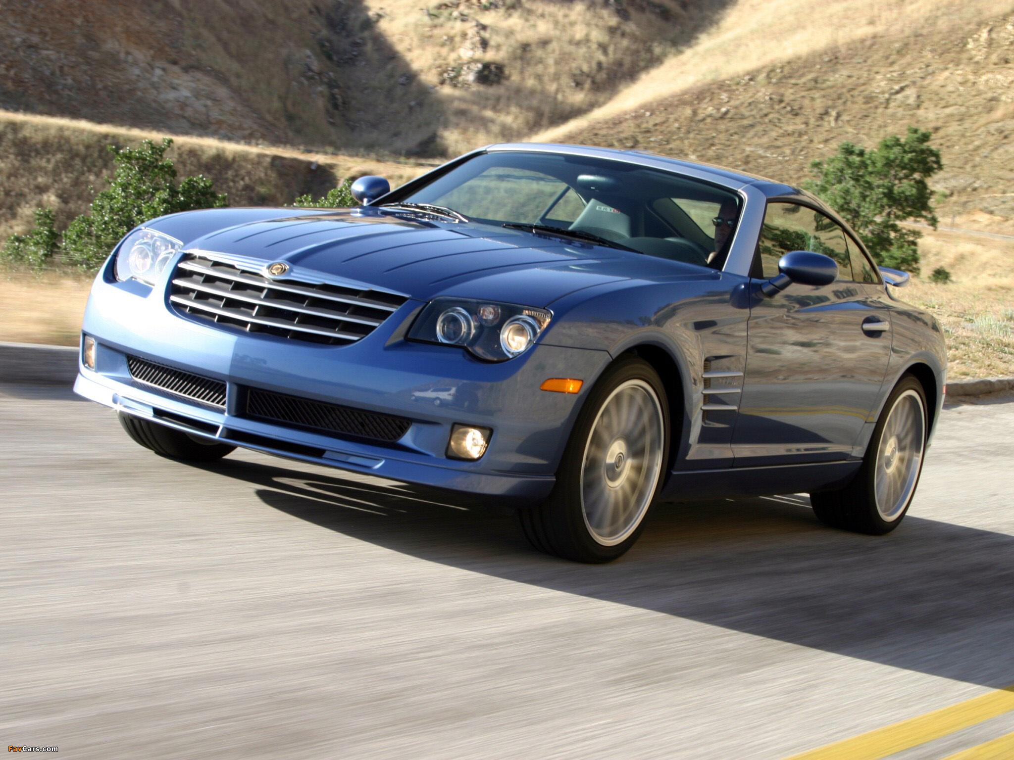 Chrysler Crossfire SRT6 2004–07 images (2048 x 1536)