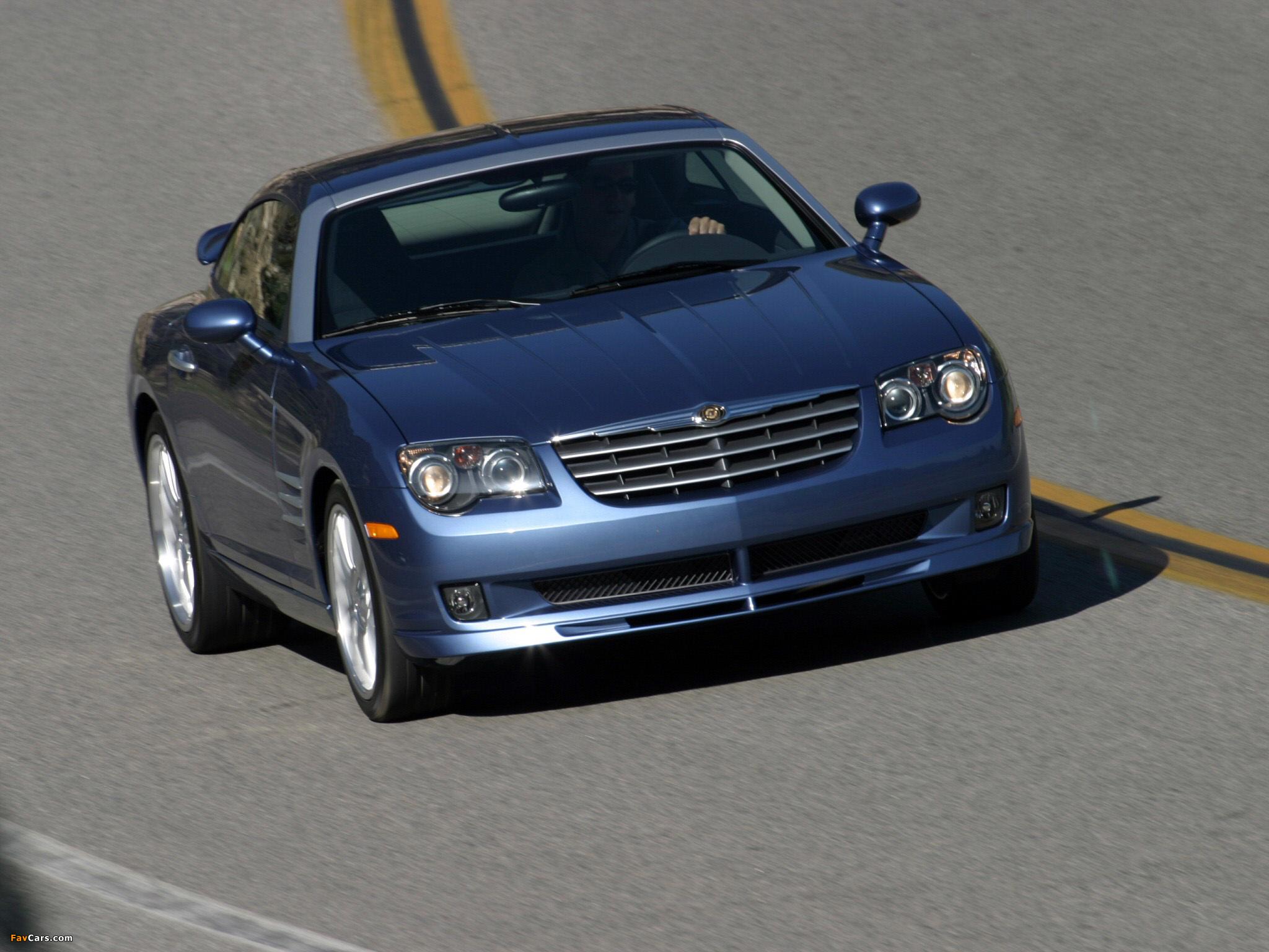 Chrysler Crossfire SRT6 2004–07 photos (2048 x 1536)