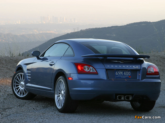 Chrysler Crossfire SRT6 2004–07 photos (640 x 480)