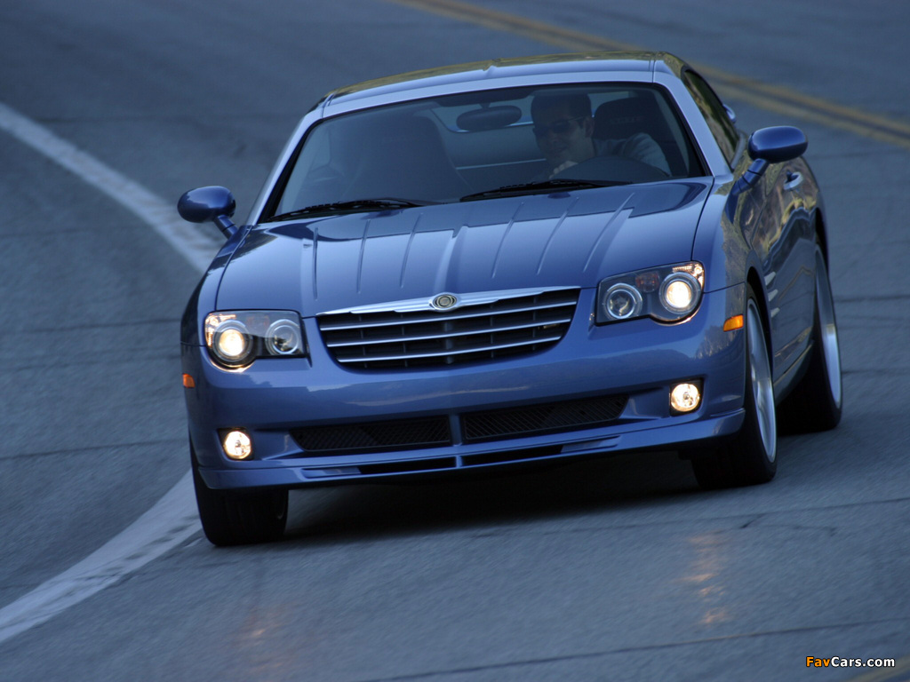 Chrysler Crossfire SRT6 2004–07 pictures (1024 x 768)