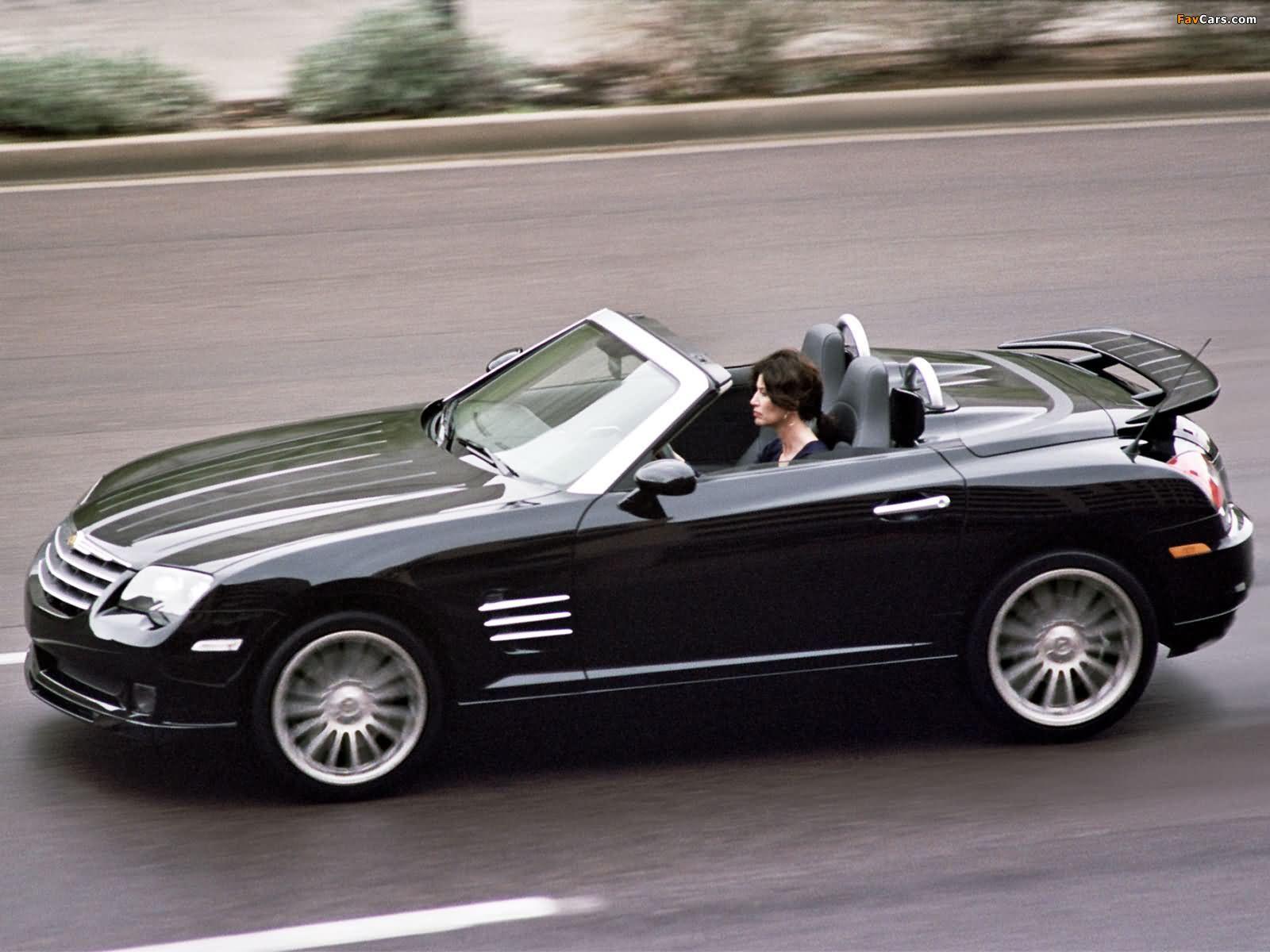 Chrysler Crossfire SRT6 Roadster 2005–07 photos (1600 x 1200)