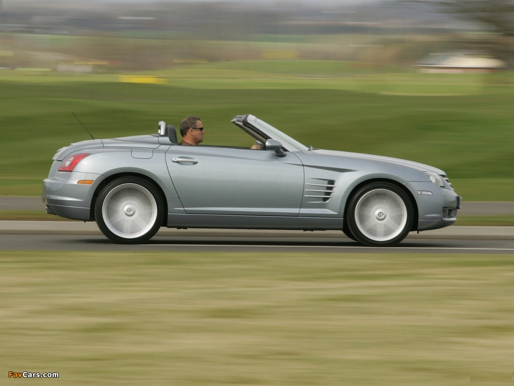 Chrysler Crossfire Roadster UK-spec 2005–07 pictures (1024 x 768)
