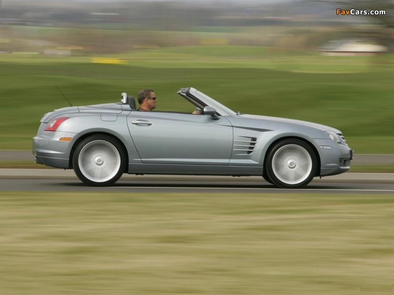 Chrysler Crossfire Roadster UK-spec 2005–07 pictures (800 x 600)