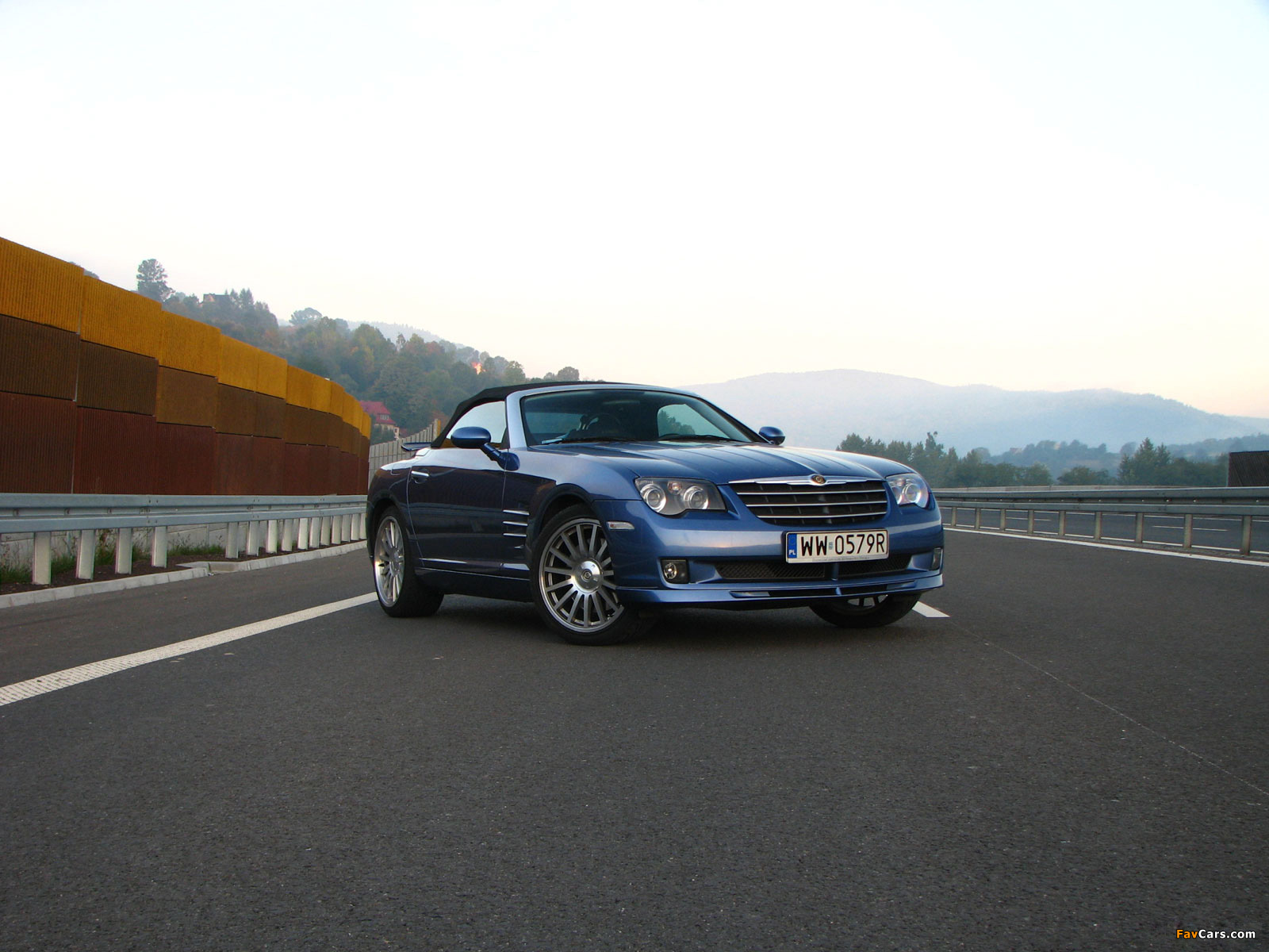 Chrysler Crossfire SRT6 Roadster 2005–07 pictures (1600 x 1200)