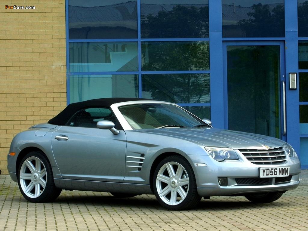 Chrysler Crossfire Roadster UK-spec 2005–07 wallpapers (1024 x 768)