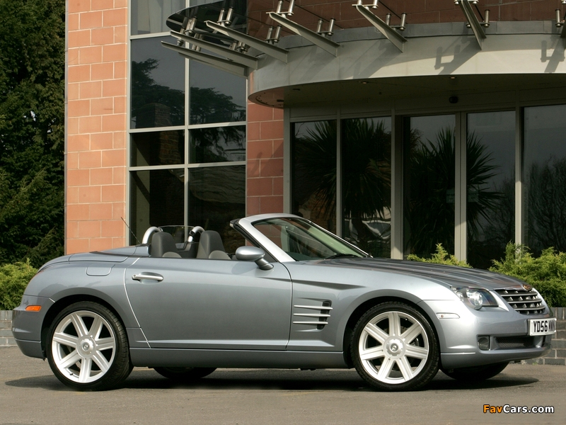 Chrysler Crossfire Roadster UK-spec 2005–07 wallpapers (800 x 600)