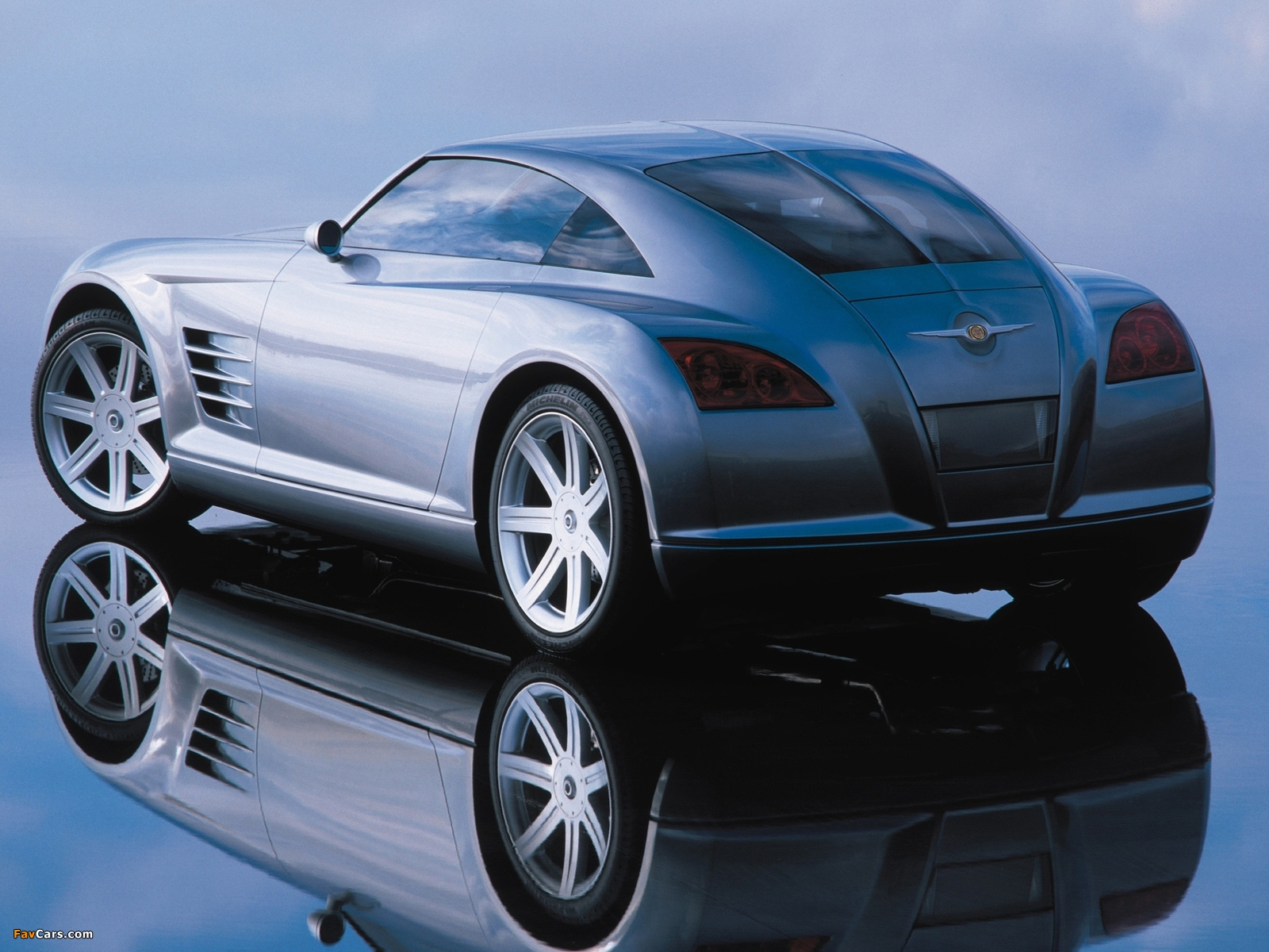 Images of Chrysler Crossfire Concept 2001 (1600 x 1200)
