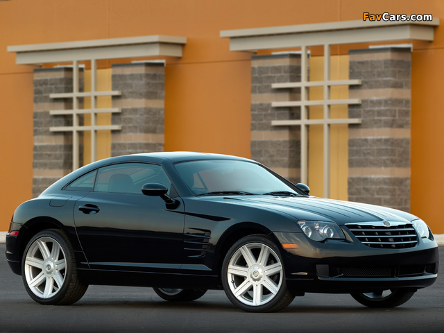Images of Chrysler Crossfire Coupe 2003–07 (640 x 480)