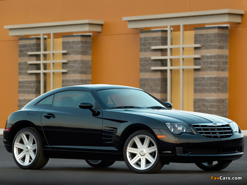 Images of Chrysler Crossfire Coupe 2003–07 (800 x 600)