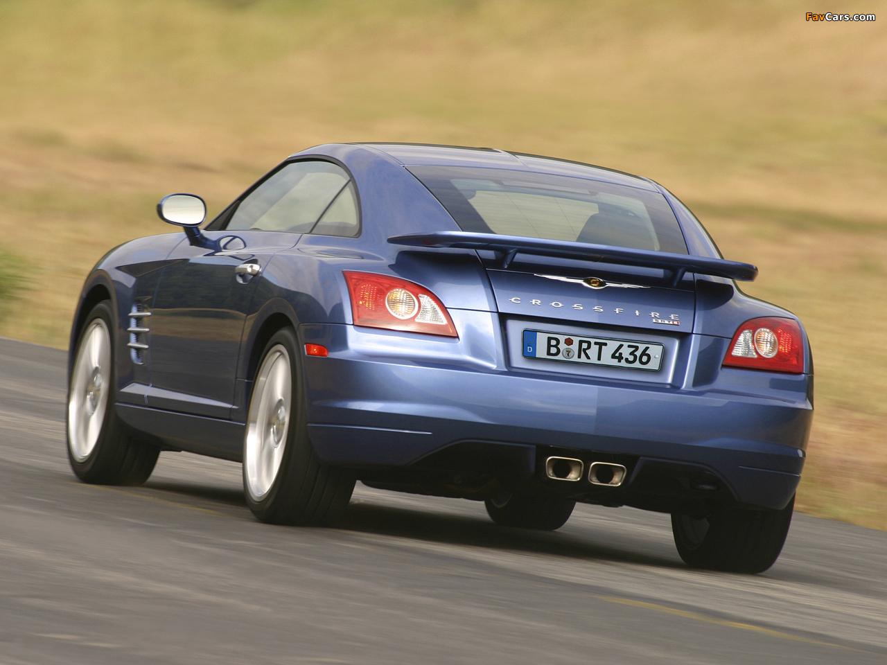 Images of Chrysler Crossfire SRT6 2004–07 (1280 x 960)