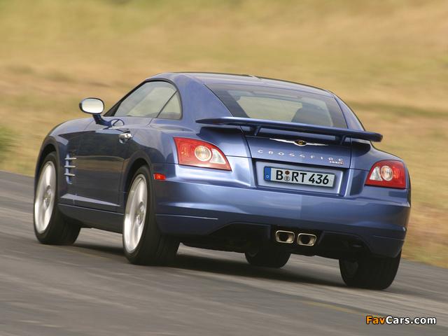 Images of Chrysler Crossfire SRT6 2004–07 (640 x 480)
