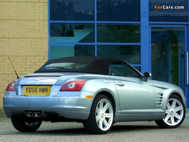 Images of Chrysler Crossfire Roadster UK-spec 2005–07 (640 x 480)