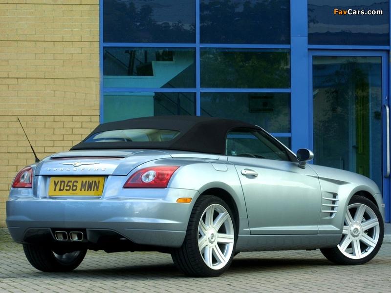 Images of Chrysler Crossfire Roadster UK-spec 2005–07 (800 x 600)