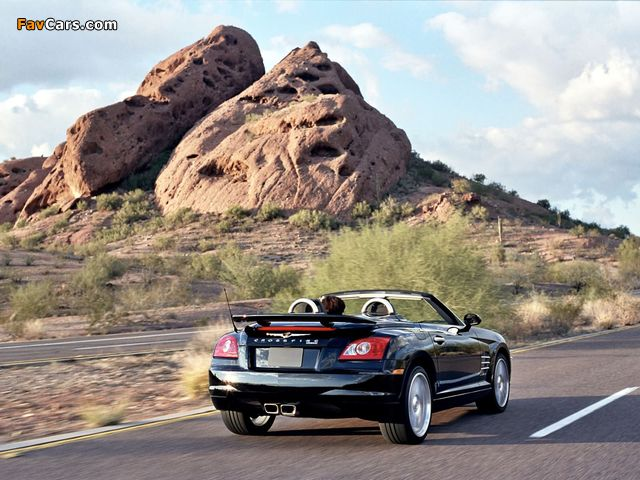 Images of Chrysler Crossfire SRT6 Roadster 2005–07 (640 x 480)