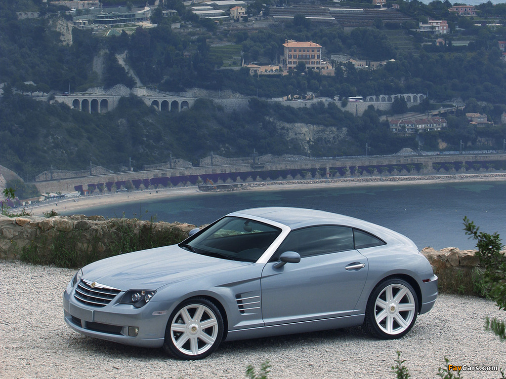 Photos of Chrysler Crossfire Coupe 2003–07 (1024 x 768)