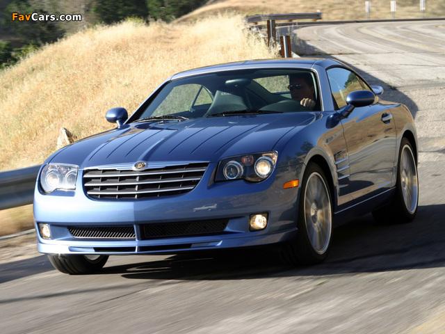 Photos of Chrysler Crossfire SRT6 2004–07 (640 x 480)