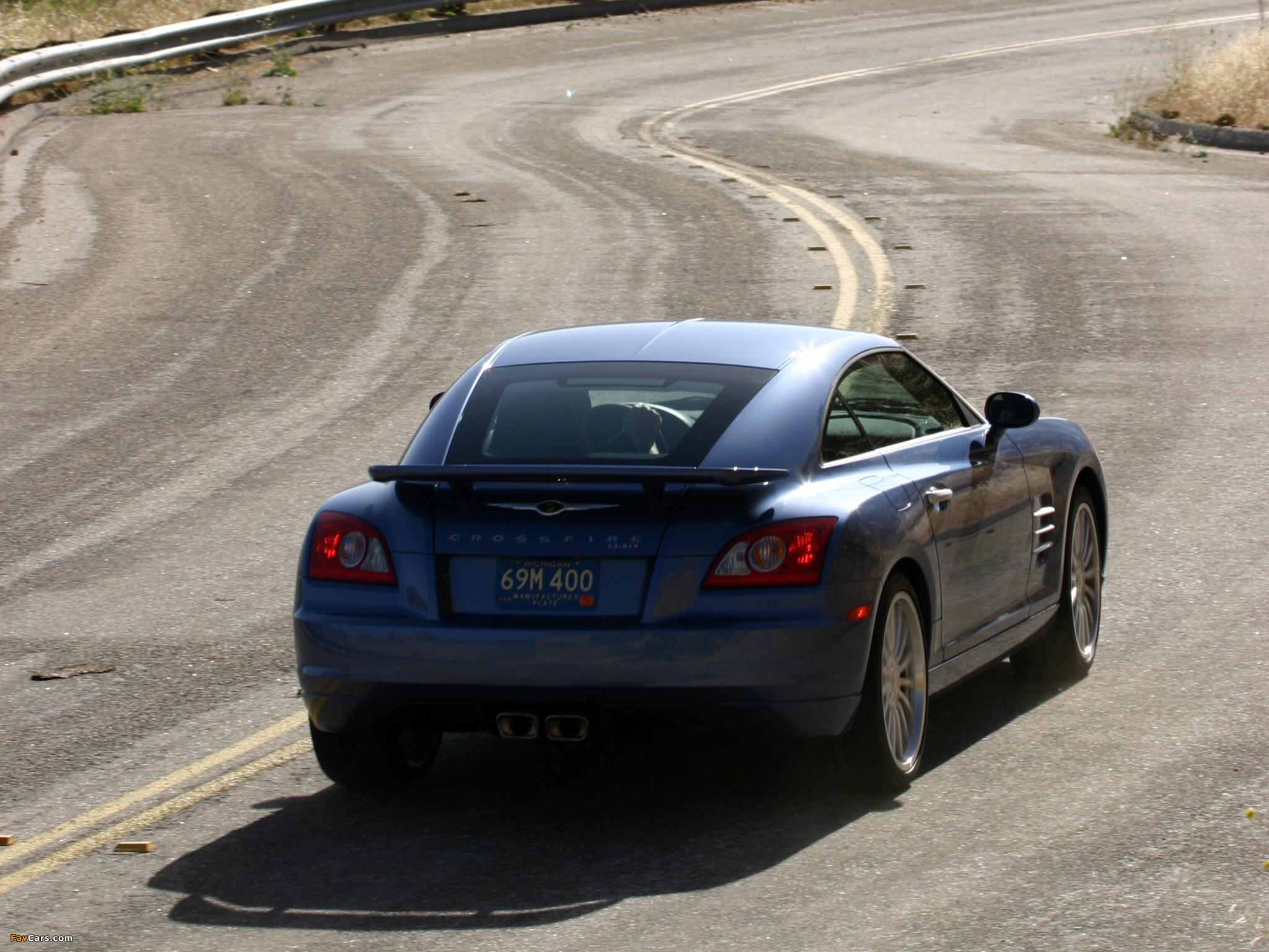 Photos of Chrysler Crossfire SRT6 2004–07 (2048 x 1536)
