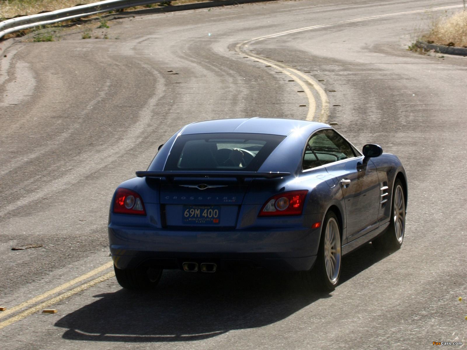 Photos of Chrysler Crossfire SRT6 2004–07 (1600 x 1200)