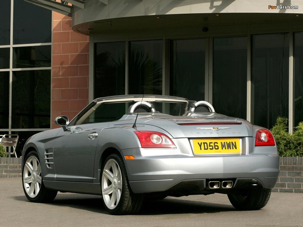 Photos of Chrysler Crossfire Roadster UK-spec 2005–07 (1024 x 768)
