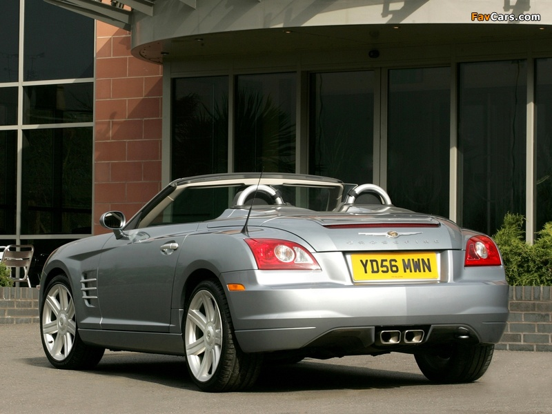 Photos of Chrysler Crossfire Roadster UK-spec 2005–07 (800 x 600)