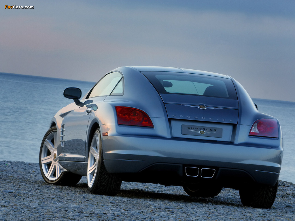 Pictures of Chrysler Crossfire Coupe 2003–07 (1024 x 768)