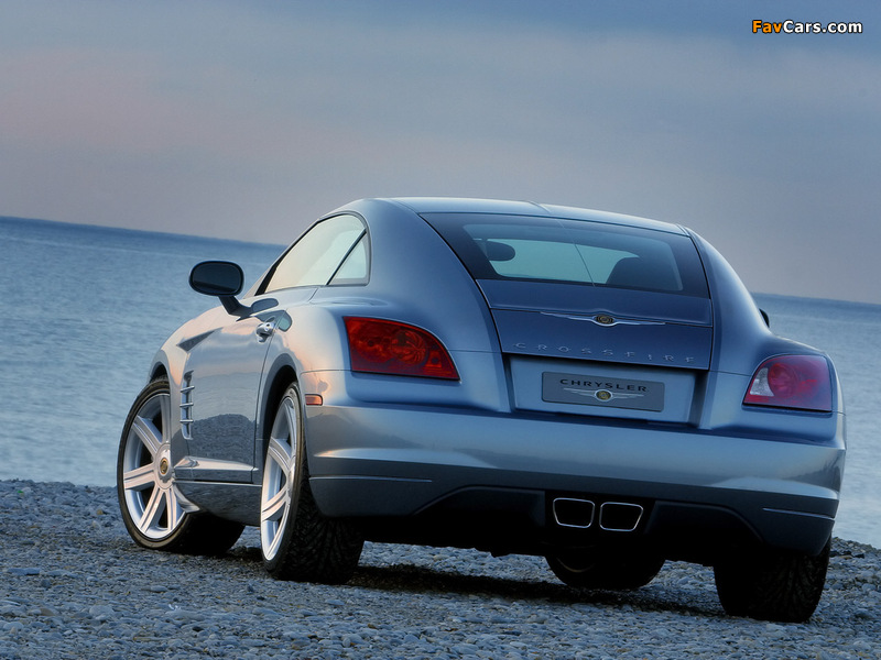 Pictures of Chrysler Crossfire Coupe 2003–07 (800 x 600)