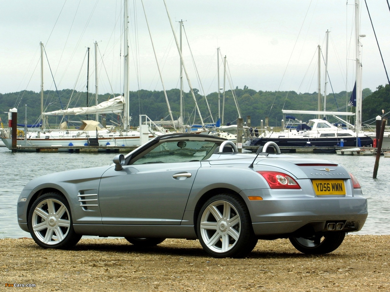Pictures of Chrysler Crossfire Roadster UK-spec 2005–07 (1280 x 960)