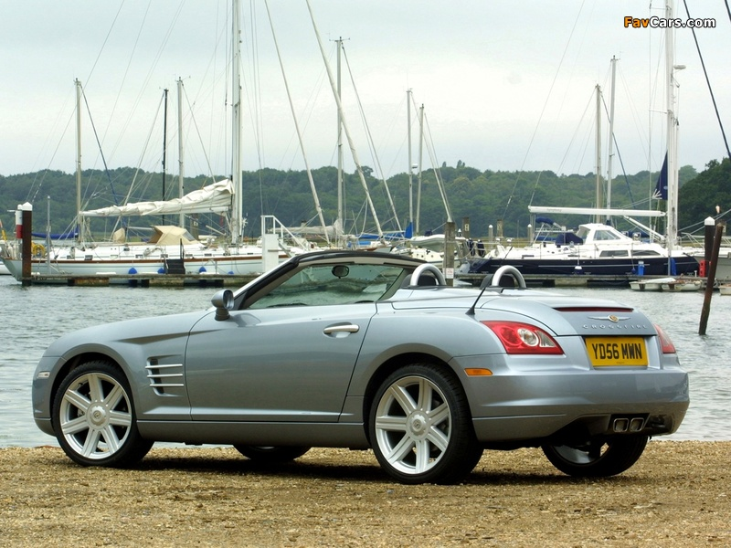 Pictures of Chrysler Crossfire Roadster UK-spec 2005–07 (800 x 600)