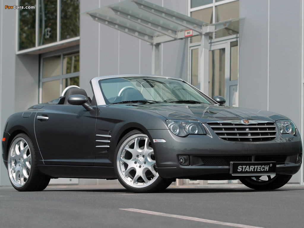 Pictures of Startech Chrysler Crossfire Roadster 2006–08 (1024 x 768)