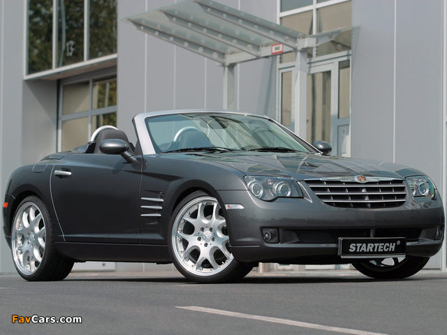Pictures of Startech Chrysler Crossfire Roadster 2006–08 (640 x 480)