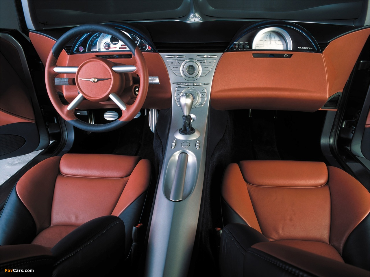 Chrysler Crossfire Concept 2001 wallpapers (1280 x 960)