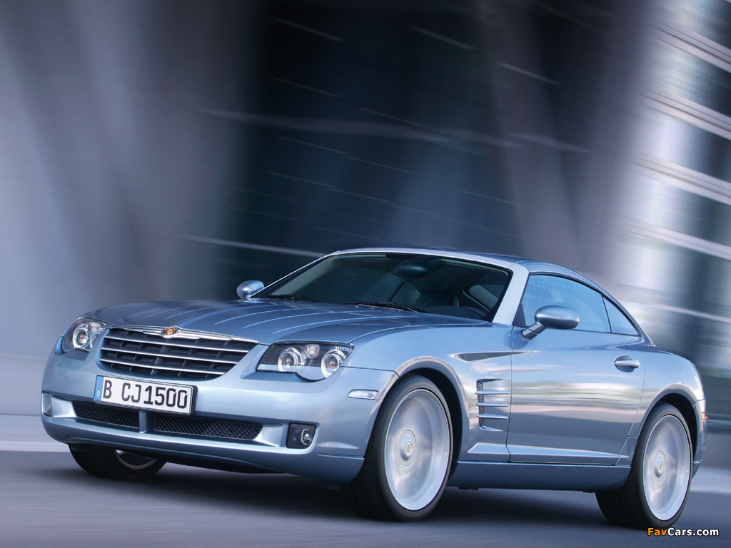 Chrysler Crossfire Coupe 2003–07 wallpapers (1024 x 768)