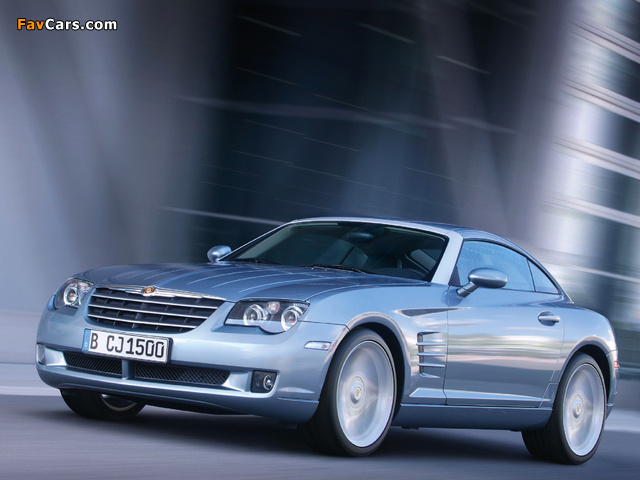 Chrysler Crossfire Coupe 2003–07 wallpapers (640 x 480)