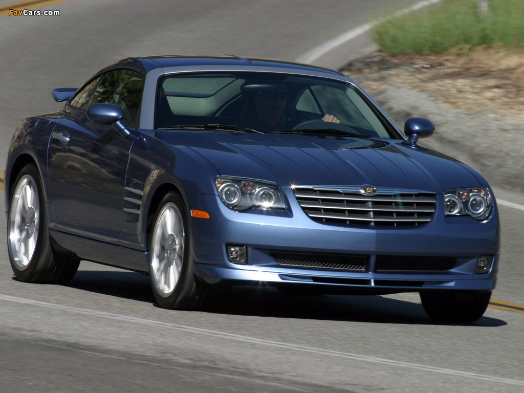 Chrysler Crossfire SRT6 2004–07 wallpapers (1024 x 768)