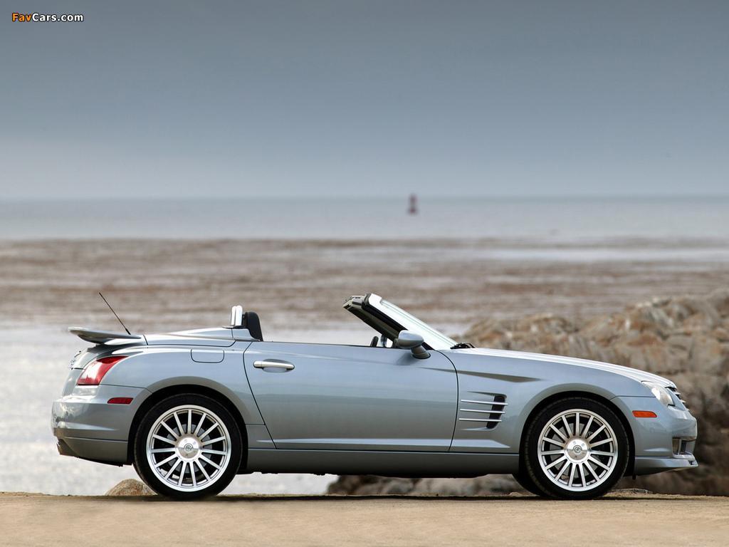 Chrysler Crossfire SRT6 Roadster 2005–07 wallpapers (1024 x 768)