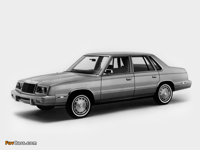 Chrysler E Class Sedan (TH41) 1983 photos (640 x 480)