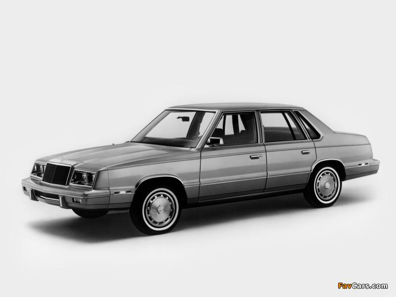 Chrysler E Class Sedan (TH41) 1983 photos (800 x 600)