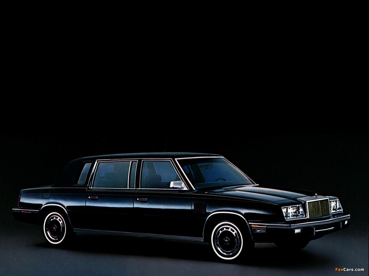 Photos of Chrysler Executive 1983–84 (1280 x 960)