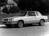 Chrysler LeBaron Coupe 1986 photos