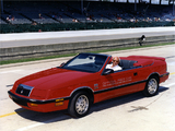 Chrysler LeBaron Convertible Indy 500 Pace Car 1987 images