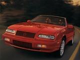 Chrysler LeBaron GTC Convertible 1993–95 images