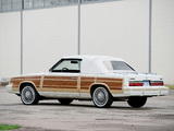 Images of Chrysler LeBaron Town & Country Convertible 1983–86