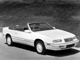 Images of Chrysler LeBaron GTC Convertible 1993–95