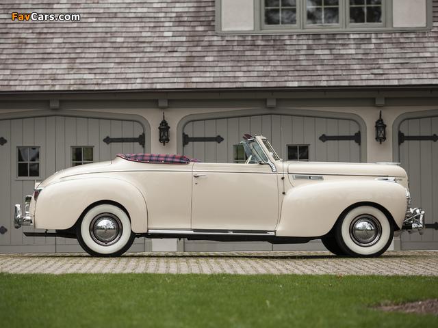 Chrysler New Yorker Highlande 1940 pictures (640 x 480)