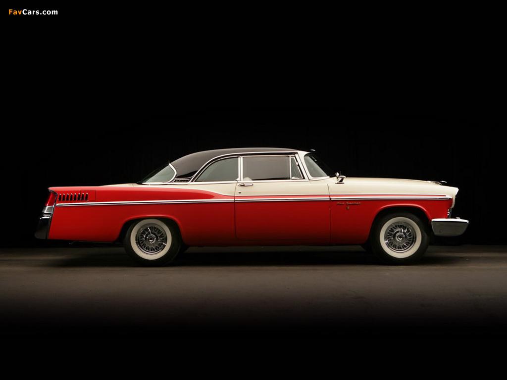 Chrysler New Yorker 2-door Hardtop 1956 images (1024 x 768)