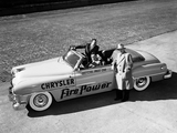 Chrysler New Yorker Convertible Pace Car 1951 photos