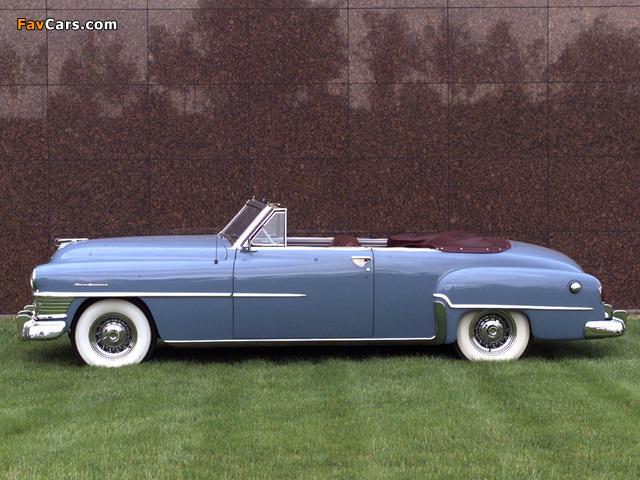 Chrysler New Yorker Convertible 1951 wallpapers (640 x 480)