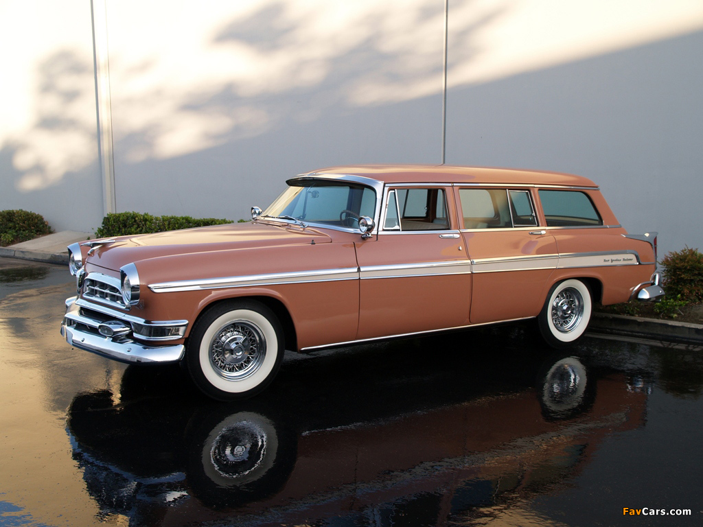 Chrysler New Yorker Station Wagon 1955 wallpapers (1024 x 768)